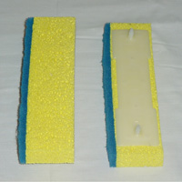 HOMEMAID� Hinge Style Cellulose w/Scrubber Sponge Mop Replacement Head